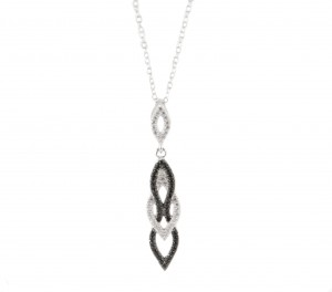 cz interlock necklace