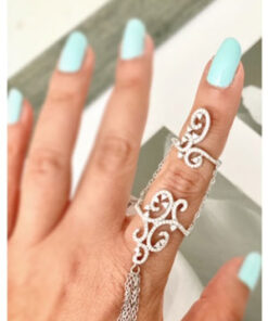 Double Chain link ring