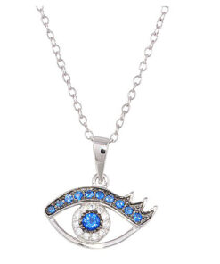 blue evil eye necklace vj3