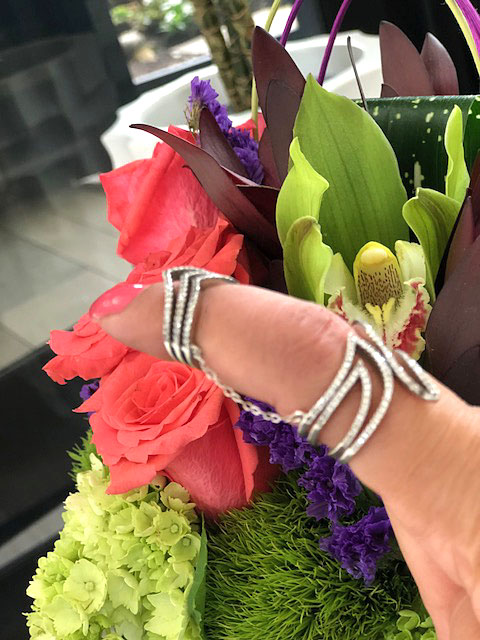 chain double ring